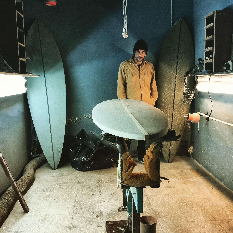 Surflab surfboard singlefin